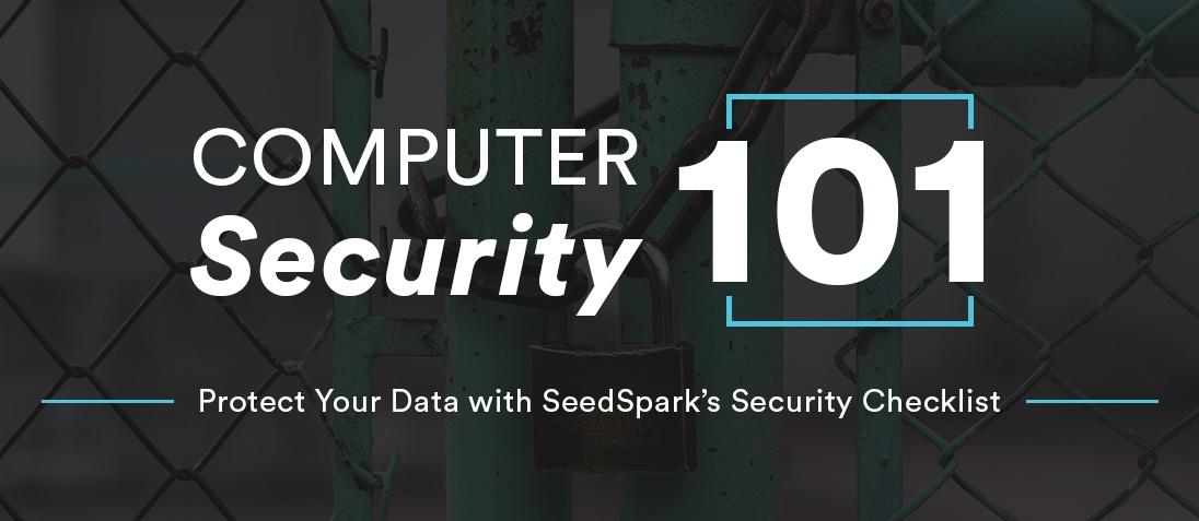 Computer Security 101 Checklist